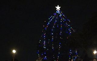 聖蓋博耶誕點燈 小朋友喜迎佳節