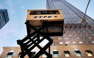 川普大楼特工安保服务 成地产中介卖点