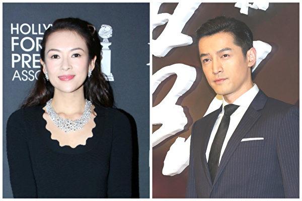 传章子怡将搭档胡歌 拍摄首部电视剧