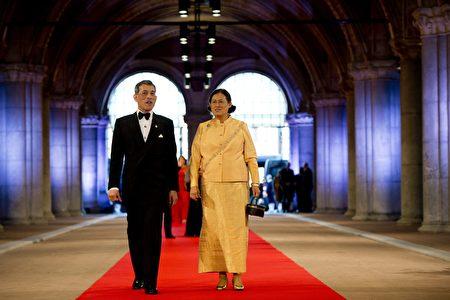 王儲(左)和二公主詩琳通。(Robin Utrecht - Pool/Getty Images)
