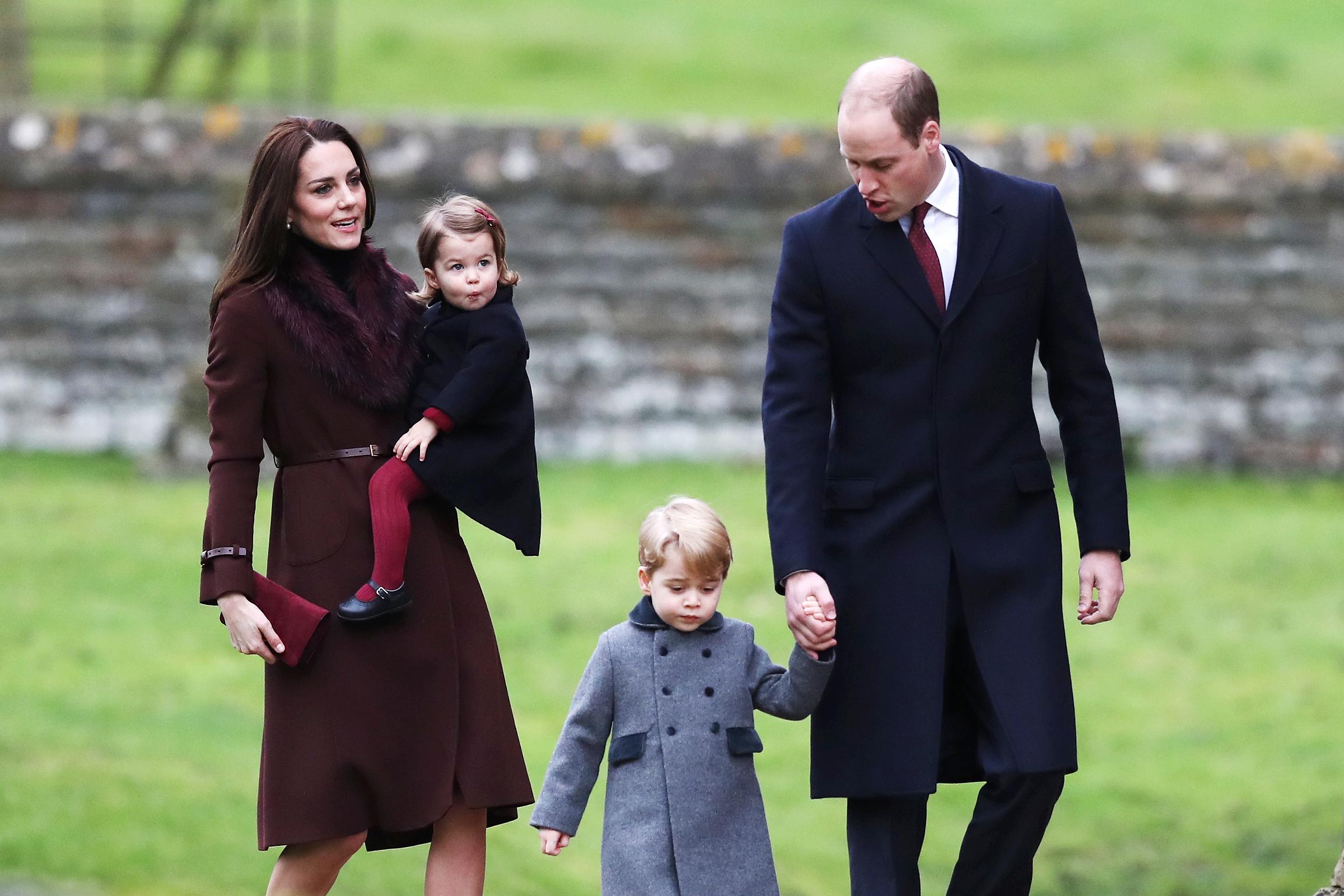 威廉凱特明年搬回倫敦 喬治王子入讀名校