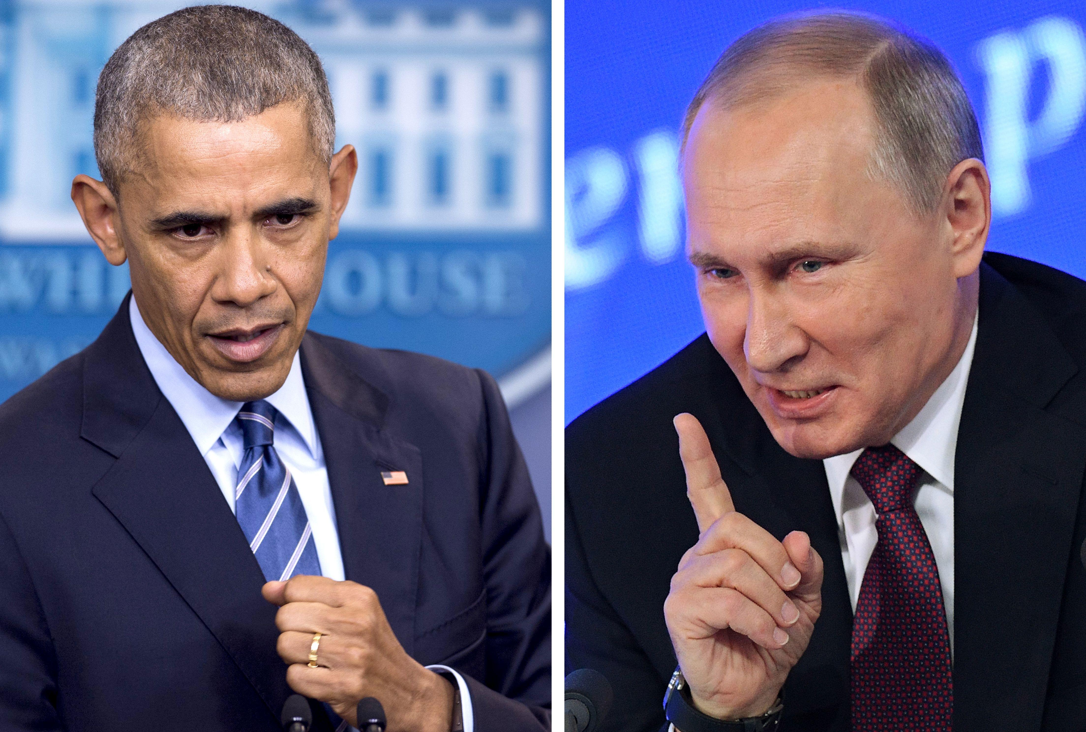 驅逐35外交官 奧巴馬宣佈對俄實施新制裁
