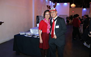 亚特兰大华人医师协会举办圣诞晚会