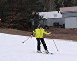 在Hunter Mountain滑雪。(大纪元)
