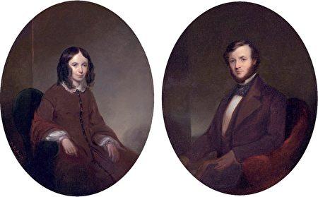 勃朗宁夫妇画像(维基百科公有领域)