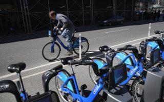 更多紐約人選擇騎自行車