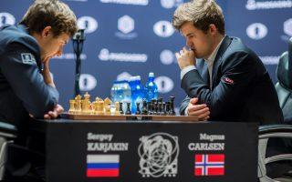 国际象棋世锦赛 卡尔森卫冕冠军