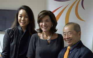 紐約副州長訪亞裔婦女中心 關注家暴問題