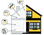 装修旧房有许多要住一的地方,首先屋主要决定改造范围。(Shutterstock)
