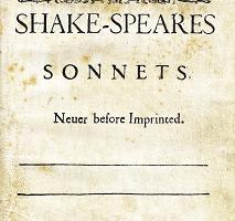 莎士比亞d的《十四行詩》(Shakespeare's Sonnets)(維基百科公共領域)