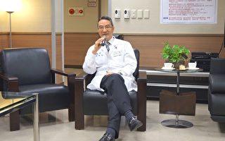 新竹馬偕蘇聰賢院長自信暢談他為新竹馬偕擘劃的願景。(新竹馬偕醫院提供)