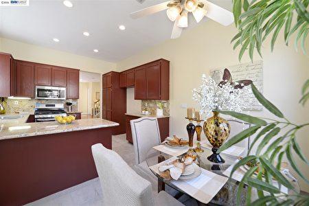 房地產經紀Wayne今年上市的普萊森頓(Pleasanton)房產,上市價89萬,賣出94萬。(灣區房地產經紀Wayne Wang提供)