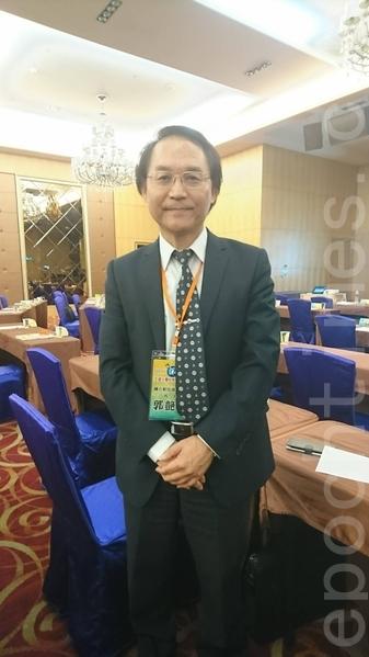 彰化师范大学校长郭艳光。(江禹婵/大纪元)