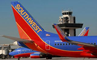 美国西南航空将增加州奥克兰直飞东岸航线