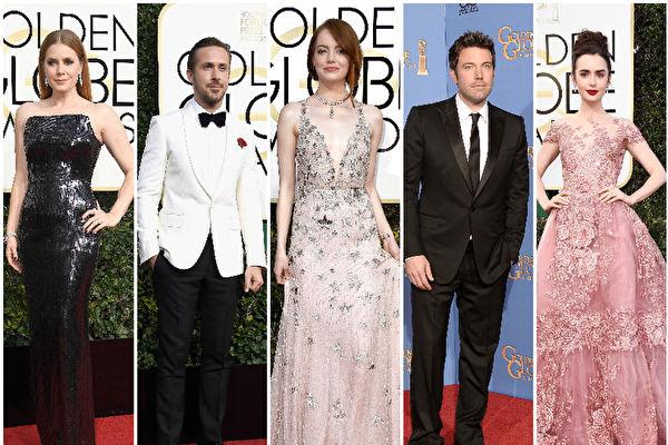 第74届金球奖登场 好莱坞众星闪耀红毯