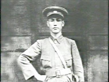 蔣介石身穿軍服,攝於1923年。(維基百科公有領域)