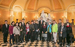 旧金山华人受邀访问州府    进一步认识民主权益