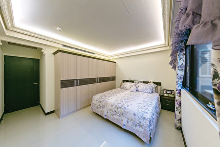 次卧室同时拥有明亮宽敞大空间。(三颉建设提供)