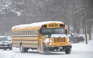 周二出行警告发布 部分校车取消