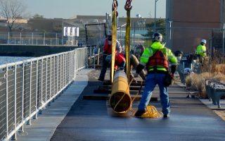 紐約市級渡輪 新碼頭動工