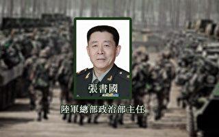 张书国升任南部战区政委 传曾破东北兵变