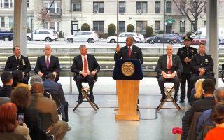 纽约枪击案降到千起以下 创历史新低