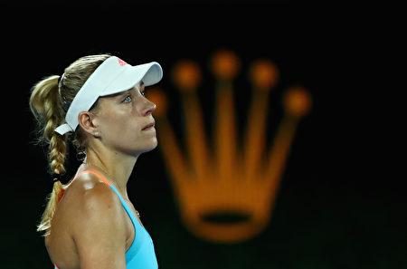 世界第一、衛冕冠軍科貝爾無緣澳洲女單八強。 (Clive Brunskill/Getty Images)