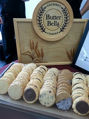 Butter Bella Cookies。(李清/大纪元)