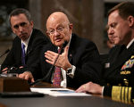 美國國家情報局局長克拉珀(圖中)5日出席參議院聽證,雖然沒有提出明確證據,但是堅信俄羅斯試圖干預美國2016年總統大選。(Chip Somodevilla/Getty Images)