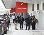 週五(1月6日)下午,美國佛州勞德代爾堡-好萊塢機場發生槍擊事件,執法官員表示,犯案動機未排除恐怖主義。由於這起槍擊案發生在行李提領區,機場安檢漏洞再度引發討論。(Joe Raedle/Getty Images)