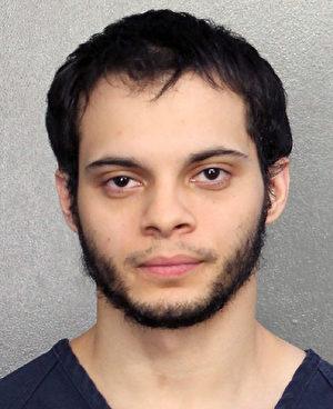 26歲的桑迪亞哥(Esteban Santiago)是伊拉克戰爭退伍軍人,他被指控殺害5人,打傷6人。如果定罪,他可能面臨死刑。 (U.S. Marshals via Getty Images)