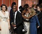 1月8日,本屆金球獎影帝出爐,凱西‧艾佛列克(Casey Affleck)因《海邊的曼徹斯特》(Manchester by the Sea)獲獎。(ROBYN BECK/AFP/Getty Images)