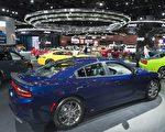 2017年1月10日開始,在密歇根州底特律舉行的年度北美國際汽車展。(SAUL LOEB/AFP/Getty Images)