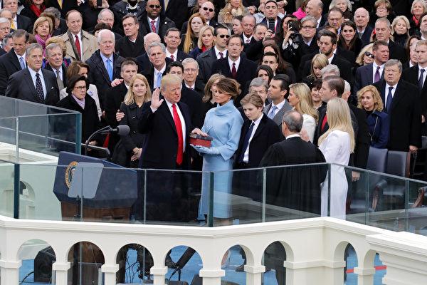 川普宣誓就职 美国人重拾自信与好心情