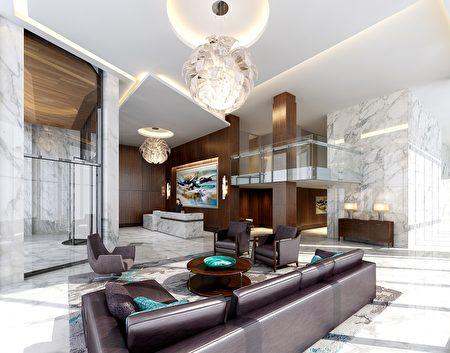 Avora建筑设计由IBI集团完成,打造多层次、逐层回归式设计,最大限度地优化Avora的河滨地理位置以及曼哈顿中城和哈德逊河的壮观景色(Avora提供)