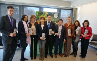 皇后植物园首位华裔董事长 介绍新年企划