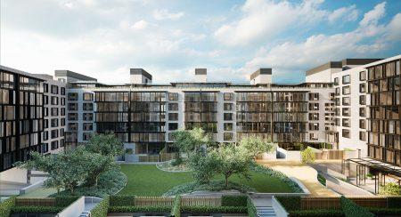由荷兰著名设计师Piet Boon设计的Oosten公寓项目。