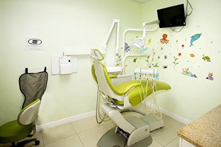布鲁克林爱心儿童牙科诊所内景(大纪元图片)