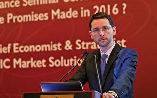 法國工商銀行首席經濟及投資策略師Francois Duhen。(余鋼/大紀元)