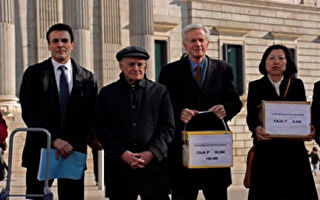 """西班牙25万个""""反活摘器官""""签名呈交国会"""