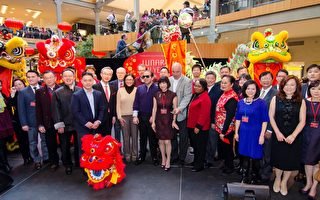 貝爾維尤廣場慶中國新年盛況空前
