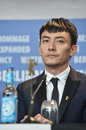 2017年2月13日,臺灣演員張震出席第67屆柏林電影節。(Pascal Le Segretain/Getty Images)