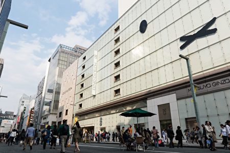日本東京銀座