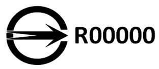 商品检验标识-R字轨。(标检局基隆分局提供)