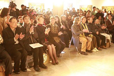 「無名.吾民-黃玉成個展」2月25日在宜蘭美術館開幕。(曾漢東/大紀元)