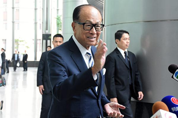 李嘉誠曝上屆香港特首選舉是早知結果的戲