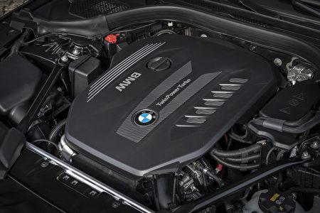 寶馬530d發動機特寫(BMW提供)