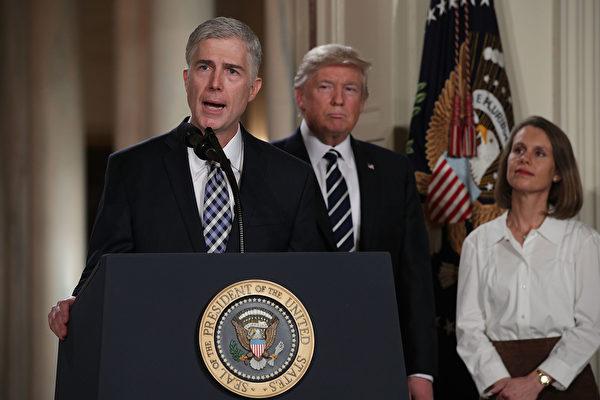 戈萨奇若获确认 美高院或进入新保守时代