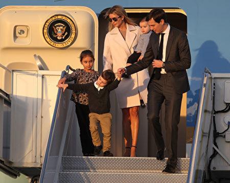 伊萬卡全家也同赴佛州。(Joe Raedle/Getty Images)