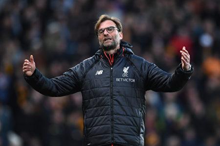 利物浦主帥克洛普。 (Gareth Copley/Getty Images)
